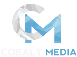 Transparent Cobalt Media Logo