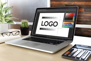 A professional logo is the result of focused brainstorming and multiple design drafts.