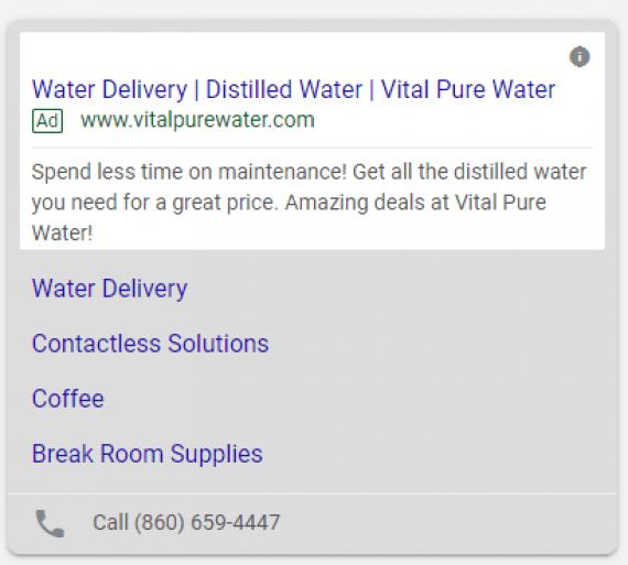 vital pure water promo