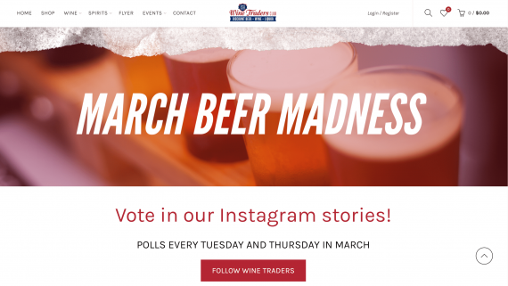 March Madness | March Beer Madness | Social Media Marketing